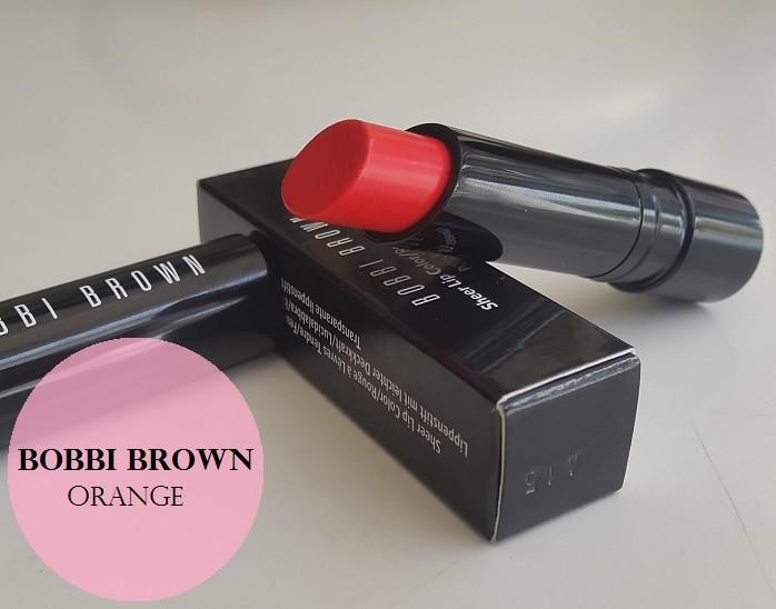 Bobbi Brown Sheer Lip Color Orange Review Swatches Price
