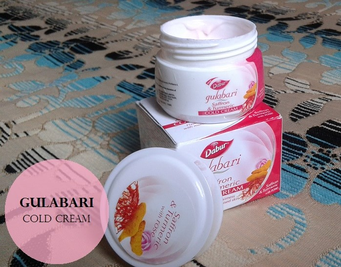 Dabur-Gulabari-Saffron-and-Turmeric-Cold-Cream-Review-price