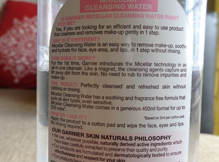 Garnier-Micellar-Cleansing-Water-review-how-to-use