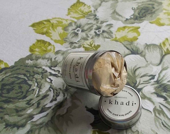 Khadi-Neem-Herbal-Face-Pack-Review
