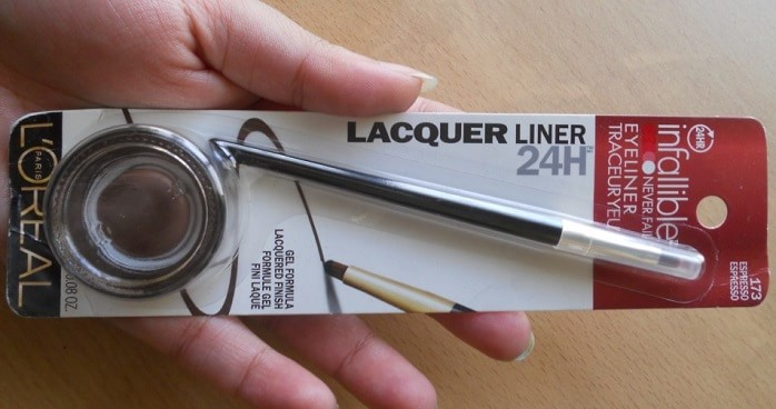 LOreal-Infallible-Lacquer-Liner-24HR-Eyeliner-Espresso-review