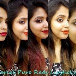 L'Oreal Paris Pure Garnet, Pure Fire, Pure Brick Lipsticks: Review, Swatches, Dupe