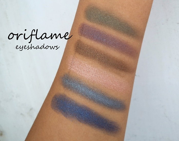 Oriflame-The-One-colour-impact-cream-eyeshadows-reviews-swatches-all-shades