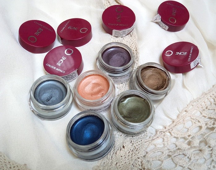 Oriflame-The-One-colour-impact-cream-eyeshadows-reviews-swatches-price