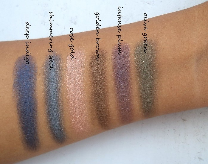 6 Oriflame The One Colour Impact Cream Eyeshadows Reviews
