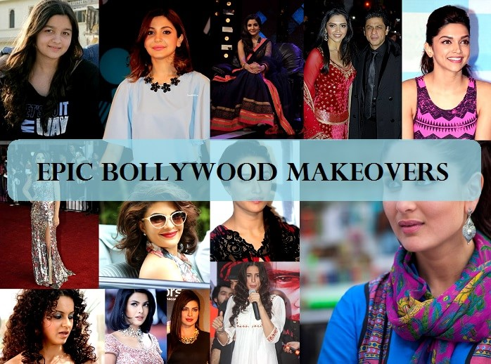 Top 10 Bollywood Actresses Makeovers Then And Now