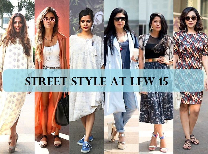 Top 10 Street Style Looks At Lakme Fashion Week 2015 Indian Fashion Blog