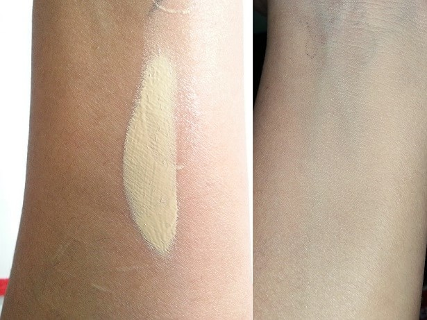Bourjois-Healthy-Mix-Serum-Gel-Foundation-Review-Swatch-before-after