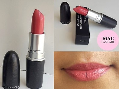 Acne In Hair >> MAC Fanfare Cremesheen Lipstick: Review, Swatches, Dupe