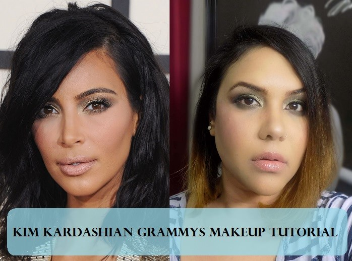 Tutorial How To Kim Kardashian Smokey Eyes Nude Lips