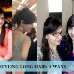 Styling my Medium Long Hair post Lakme Salon Hair Makeover