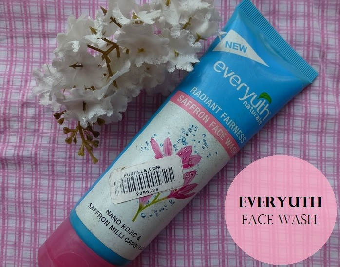 Everyuth-Naturals-Radiant-Fairness-Saffron-Face-Wash-Review-Price