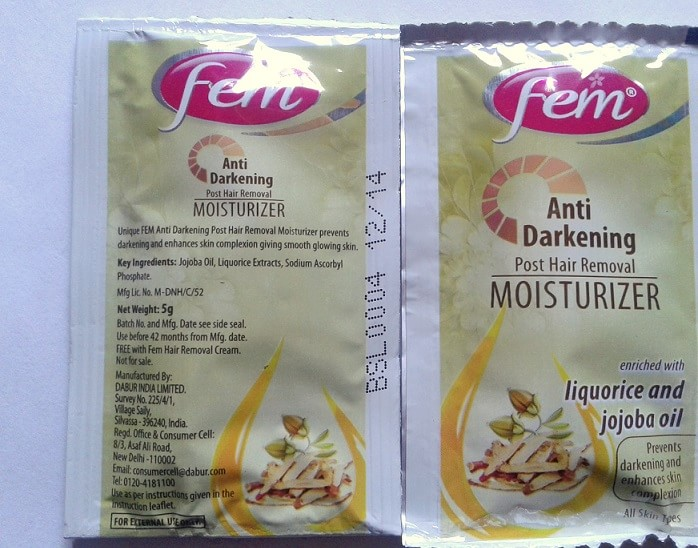 Fem-Anti-Darkening-Hair-Removal-Cream-for-sensitive-skin-review-demo