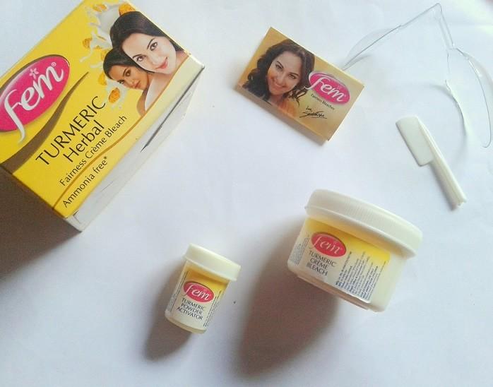 Fem-Turmeric-Herbal-Fairness-Cream-Bleach-Review-price