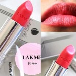 Lakme Enrich Satin Lip Color P164: Review, Swatches