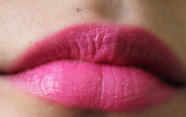 Lakme-Enrich-Satin-Lipstick-P166-Review-Swatch-lips