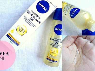 Nivea Q10 Massaging Stretchmark Oil: Review, Price