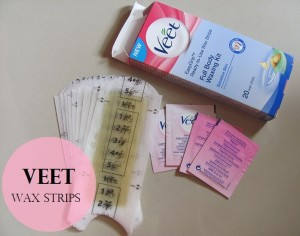 Veet-Ready-To-Use-Wax-Strips-full-body-waxing-kit-review-demo-price