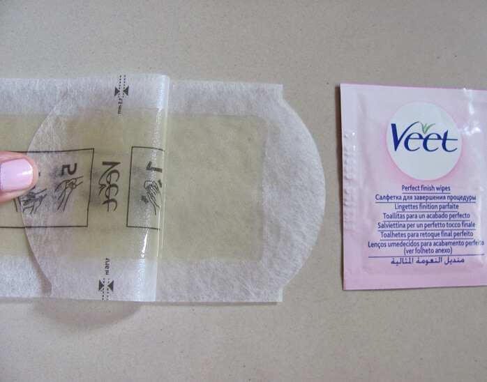 Veet-Ready-To-Use-Wax-Strips-full-body-waxing-kit-review-demo
