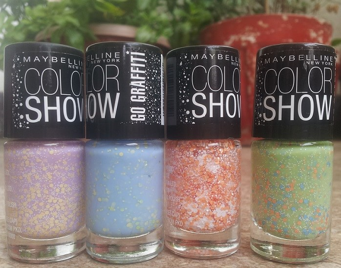 best-4-Maybelline-Color-Show-GO-GRAFFITI-Nail-Polishes-greengraffiti-luckylavender-flowerpower-blueberrybombshell