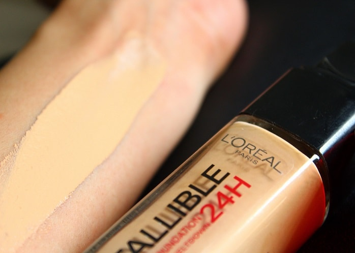 L Oreal 24h Infallible Liquid Foundation Review Before