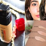 L'Oreal Paris 24H Infallible Reno Liquid Foundation: Review, Swatches