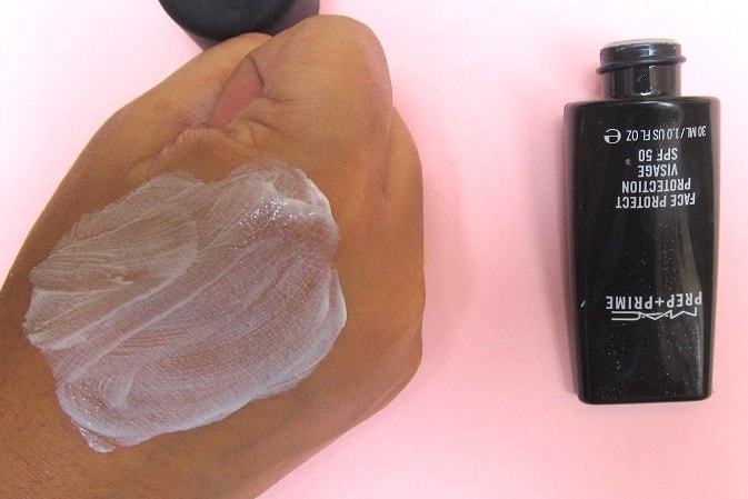 MAC-Prep-Prime-Face-Protect-Protection-Visage-SPF50-Review-Swatch-how-to-use
