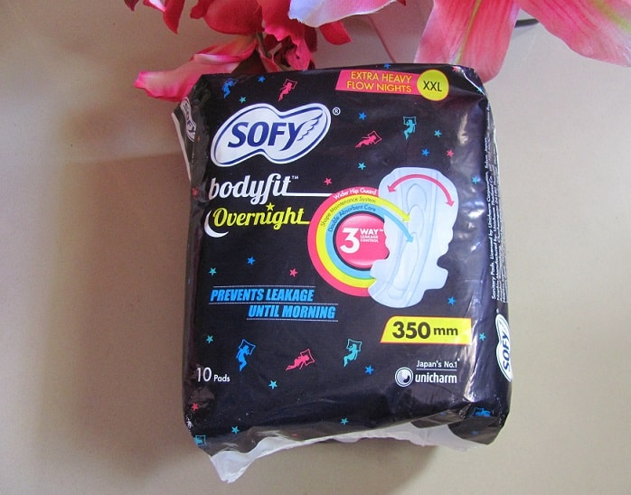 SOFY-Bodyfit-Overnight-sanitary-pads-review-price