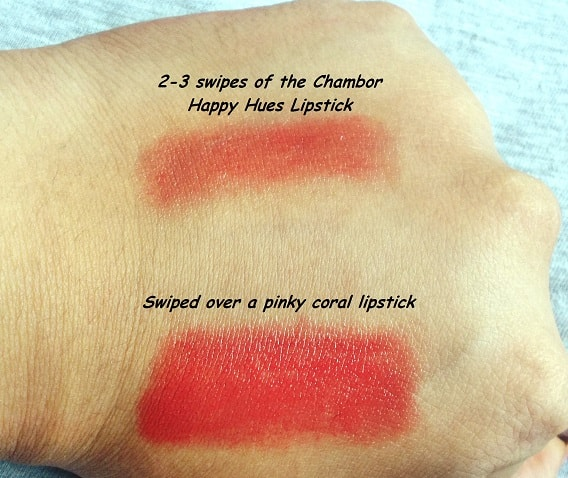 Chambor-Happy-Hues-Moisture-Plus-Lipstick-Ocean-Roses-Review-Swatches