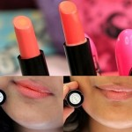 Elle 18 Color Boost Lipsticks Hyper Orange, Coral Nude: Review, Swatches