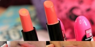 Elle18-Color-Boost-Lipsticks-HyperOrange-NudeCoral-Reviews