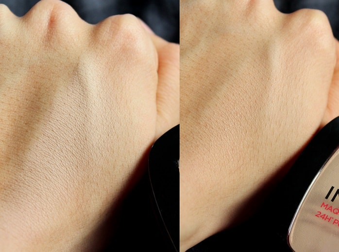 Loreal-Paris-Infallible-24H-Powder-Foundation-Review-Swatches-indian-skin