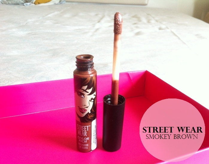 Street-Wear-Color-Rich-Mega-Shine-Lip-Gloss-Smokey-Brown-Review-Swatches-price