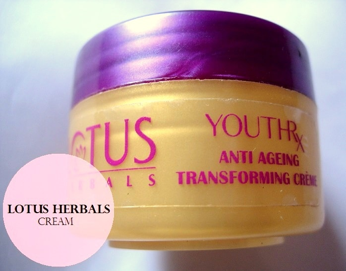 Lotus-Herbals-YOUTHRx-Anti-Ageing-Transforming-Creme-Range-review-price