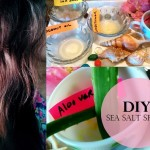 How to: DIY Sea Salt Spray for Beach Hair Recipe