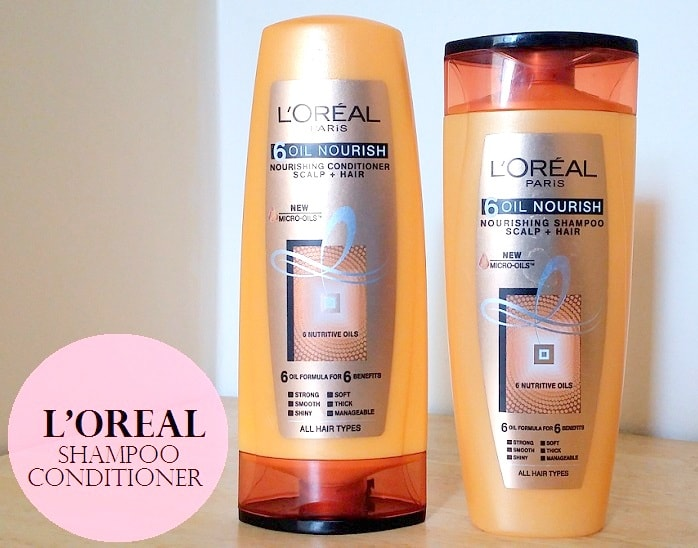 L'Oreal Paris 6 Oil Nourish Shampoo and Conditioner: Review, Price
