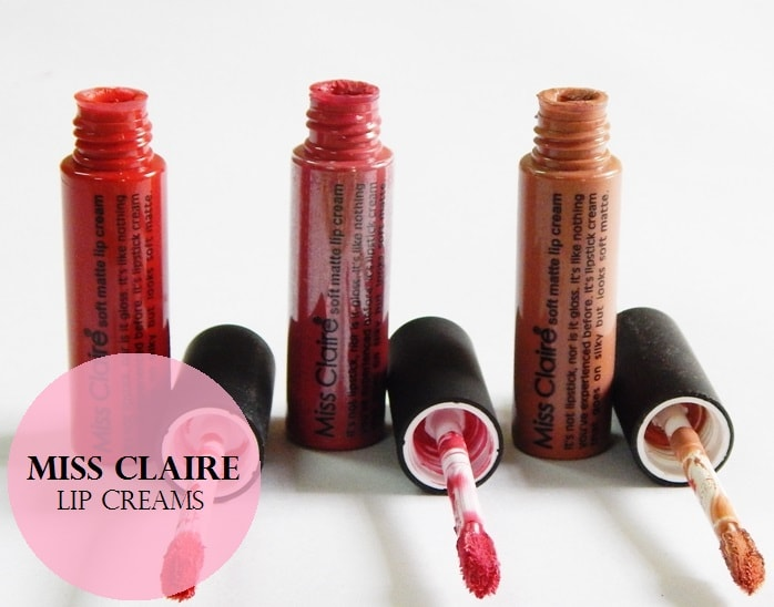 Miss-Claire-Soft-Matte-Lip-Creams-Reviews-Swatches-price