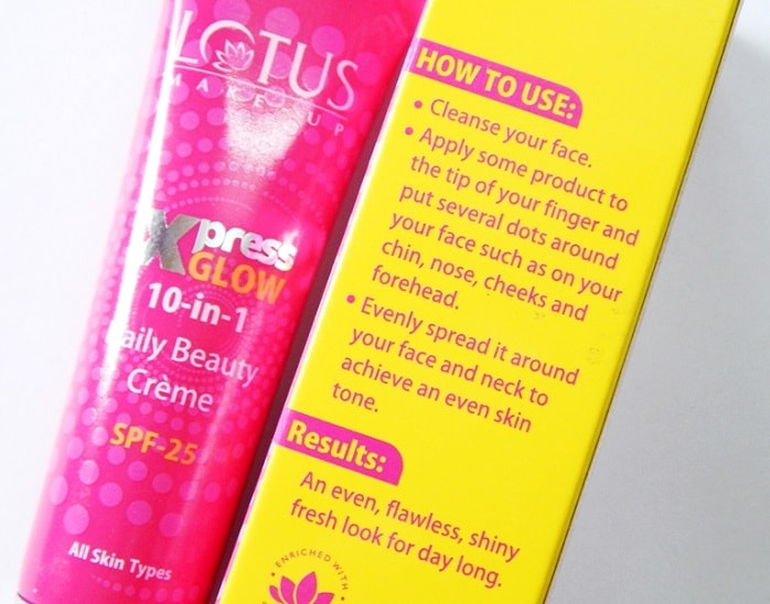 Lotus-Xpress-Glow-10-in-1-Daily-Beauty-Creme-SPF25-reviews