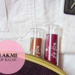 Lakme Lip Love Lip Care Review, Swatches: Cocoa, Grape