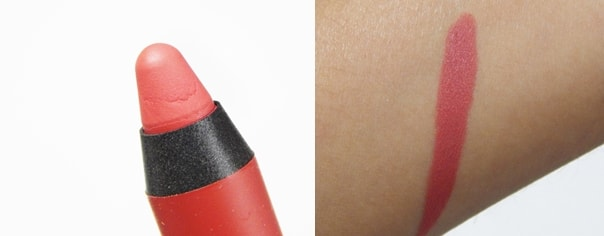 Faces-Ultime-Pro-Matte-Lip-Crayons-review-peachme-swatch