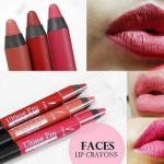 3 Faces Ultime Pro Matte Lip Crayons: Review, Swatches, Shades
