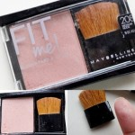 Maybelline Fit Me Blush Review, Swatches: Medium Nude
