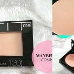 Maybelline Fit Me Pressed Powder Review, Swatches: Buff Beige 130