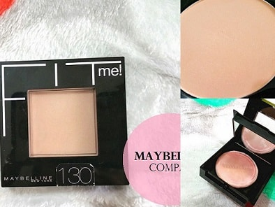 Maybelline Fit Me Pressed Powder Review Swatches Buff Beige