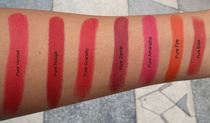 LOreal-Collection-Star-Red-Lipsticks-Shades-Reviews-Swatches