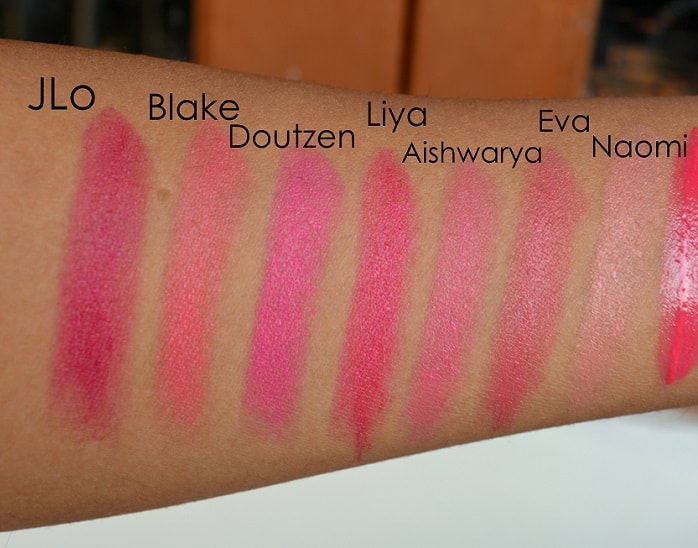 LOreal-Paris-La-Vie-En-Rose-Collection-Star-Range-matte-lipsticks-reviews-shades-swatches