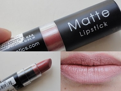 Nyx Matte Lipstick Euro Trash Review Swatches Dupe Price