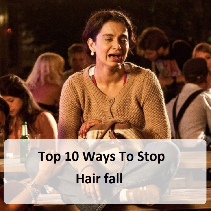 What to do to stop hair falling out