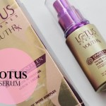 Lotus Herbals YOUTHRx Youth Activating Serum + Creme: Review, Price