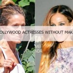 10 Hollywood Actresses Without Make Up